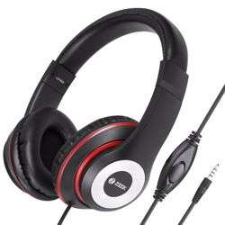 Zoook Thump Wired Headphone with Mic & extra BASS - Black+Red preview