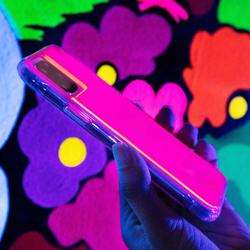 CASE-MATE Tough Neon Pink/Purple Case for iPhone 11 Pro preview