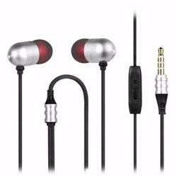 Zoook Bass Monster 330 Metallic HD Earphones with Xbass & Mic - Silver/Black preview
