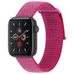 CASE-MATE 42-44mm Apple Watch Nylon Band - Metallic Pink preview