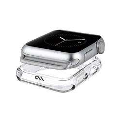 CASEMATE Apple Watch Bumper Case 38mm Naked Tough For Apple Watch Clear preview