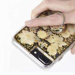 CASE-MATE Phone Dotted Ring Holder Phone Grip Stand Universal Gold preview