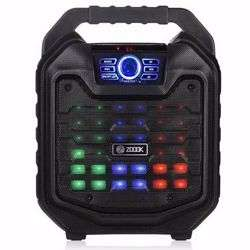 Zoook Rocker Thunder2 30 watts Karaoke Bluetooth Speaker with Remote & Wired Mic (Black) preview