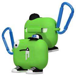 CASE-MATE CreaturePods AirPods Pro Case - Chuck The Cool Guy - Green preview