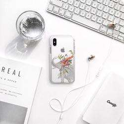 CASETIFY iPhone XS/X Impact Case Boho Elephant preview