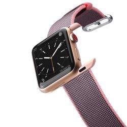 CASETIFY Apple Watch Band Nylon Fabric All Series 38mm Pink preview