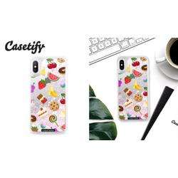 CASETIFY Glitter Case Unicorn Sweet Emojis for iPhone XS/X preview