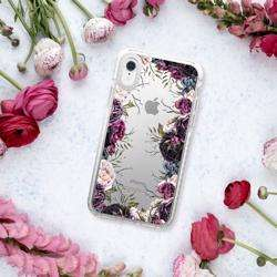 CASETIFY iPhone XR Impact Case Dark Floral preview