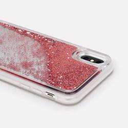 CASETIFY Glitter Case Rose Gold But First Coffee for iPhone XS/X preview