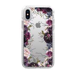 CASETIFY iPhone XS Max Impact Case Dark Floral preview