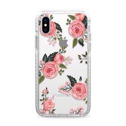 CASETIFY Impact Case Pink Roses For iPhone XS Max preview
