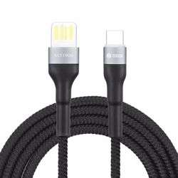 Zoook TurboCharge 5 Super Speed 5A Charge & Sync Cable, QC 3.0 Certified, for Charge Sync - Black preview