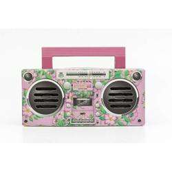 GPO Bronx Boombox Bluetooth Portable Speaker Pink preview