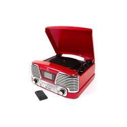 GPO Memphis Record Player Red preview