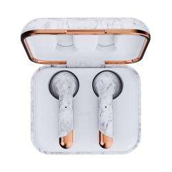 HAPPY PLUGS Air 1 True Wireless Headphones Limited Edition - White Marble preview
