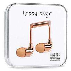 HAPPY PLUGS Deluxe In Ear Headphone Rose preview
