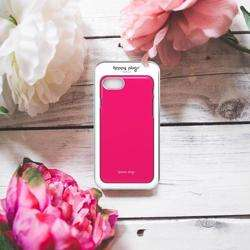 HAPPY PLUGS Slim Case for iPhone 8/7 Cerise preview