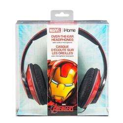 iHOME Kiddesigns Over-Ear Headphone With Mic Iron Man preview
