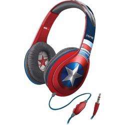 iHOME Kiddesigns Over-Ear Headphone With Mic Captain America preview