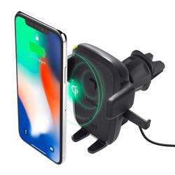 IOTTIE Easy One Touch Qi Wireless Fast Charge Air Vent Car Mount preview