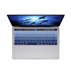 KB COVERS Keyboard Cover for MacBook Pro 13 and 15-inch - w/ Touch Bar Deep Blues preview