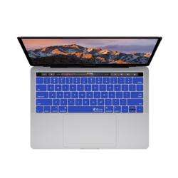 KB COVERS Keyboard Cover for MacBook Pro 13 and 15-inch - w/ Touch Bar Dark Blue preview