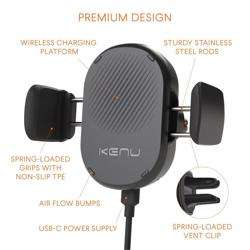 KENU Airframe Qi Wireless Charging Car Vent Mount preview