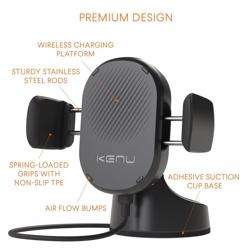 KENU Airbase Wireless Charging Suction Mount preview