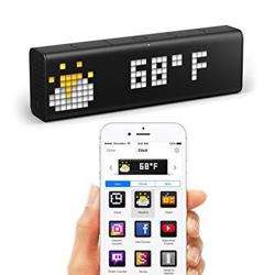 LaMetric TIME World''''s Smartest Clock - WiFi connected Clock with LED Indicator Panel preview
