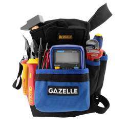 GAZELLE - 7 Pocket Toolbag with beltSize: 9.5In L x 11In H / 600D Polyester preview