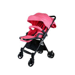 Baby Plus BP7733-PINK2 Stroller, 0-2 Years