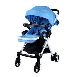 Baby Plus BP7733-BLUE Stroller, 0-2 Years