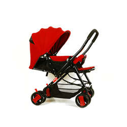 Baby Plus BP7732 Baby Stroller and Pram Wine Red, 0-36 months preview