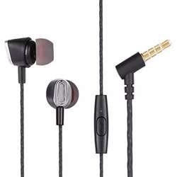 Zoook Gama Universal HD Earphones with Mic - Black preview