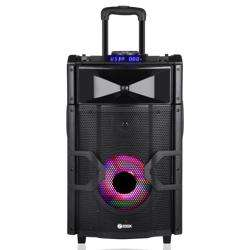 Zoook ZB ROCKER BEATBOX PRO Extreme Sound Machine with DJ Mixer PAD & Light Effects Black preview