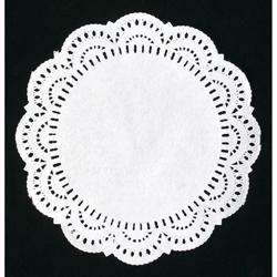 Hotpack Round Doilies Paper 12in-1000Pcs