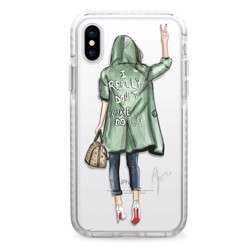 CASETIFY Snap Case Don't Care For iPhone XS Max preview