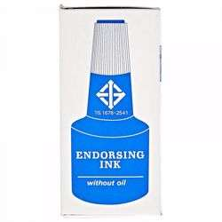 Horse Stamp Ink - Blue -1 Pc