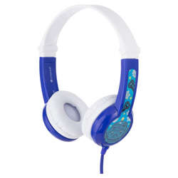 BUDDYPHONES Connect On-Ear Wired Headphones Blue preview
