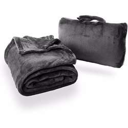 CABEAU Fold ''''n Go Blanket Charcoal Black preview