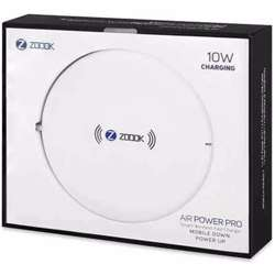 Zoook Smart Wireless Fast Charger with 10W Output;Universal for all QI enabled devices - White preview
