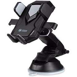 Zoook ZMT TRANSFORMER Robotic 360 degree Universal One Touch Release Car Mobile Holder - Black+Grey preview