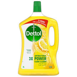 Dettol Lemon Healthy Home All- Purpose Cleaner 3L