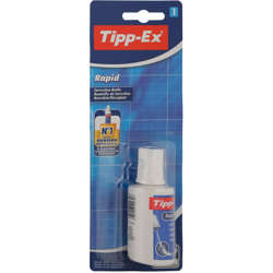 Bic Tipp-Ex Rapid Correction Fluid Bottle 20Ml