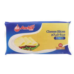 Anchor Iws, Cheese Slices - 334G