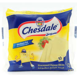 Chesdale Iws, Processed Cheese Slices - 167G
