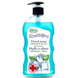 Naturaphy Antibacterial Liquid Hand Wash - Aloe Vera - 650ml