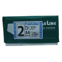 Sinarline Computer Paper -A4,2 Ply,White 2000 Sheets