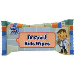 Cool & Cool Dr.Cool Kids Wipes - 10'S