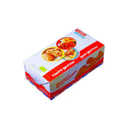 Hotpack Paper Dinner Box Medium 22x12cm-250Pcs